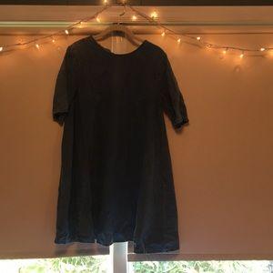 ASOS denim dress